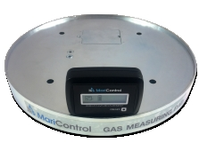 Wireless gas measuring set (pad + display)