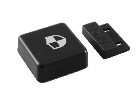 Wireless security sensor for windows and doors