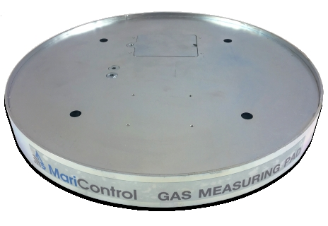 Wireless gas measuring pad